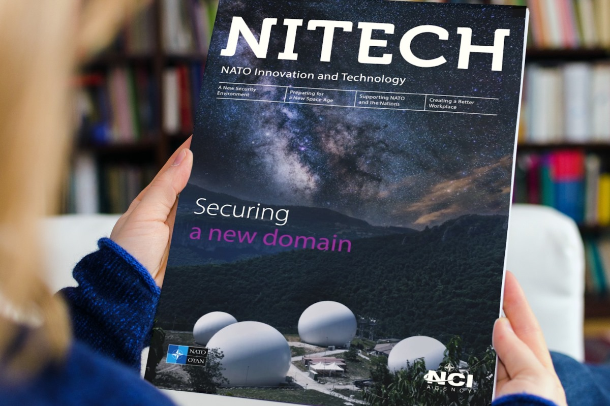 New edition of NITECH magazine highlights securing the space domain