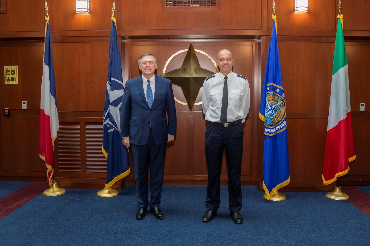 Resilience, agility and teleworking: NATO Allied Command Transformation and NCI Agency leadership review a year of success